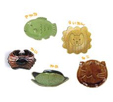 動物の陶芸